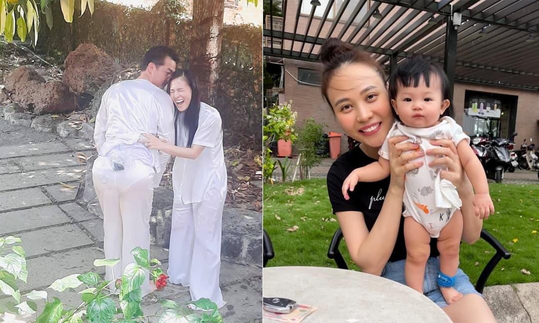 Sao Việt 18/4/2021: Quách Ngọc Ngoan khiến bạn diễn cười xỉu vì mặc quần lót của vợ; Đàm Thu Trang đăng ảnh con gái cực yêu