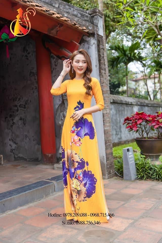 Áo dài Hoàng Nam, áo dài việt