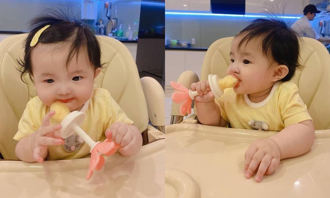 Đông Nhi và Ông Cao Thắng tiết lộ con gái 'trộm vía' siêu đáng yêu: 'Con muốn ăn cả thế giới'