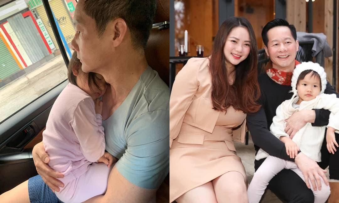 Phan Như Thảo khoe khoảnh khắc đáng yêu của con gái cưng nũng nịu bên chồng đại gia