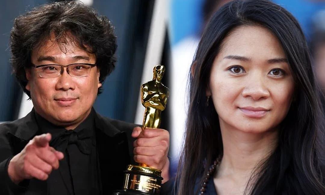 Oscar 2021 lần đầu tiên vinh danh nữ đạo diễn gốc Á, đạo diễn 'Ký sinh trùng' Bong Joon Ho đứng ra trao giải