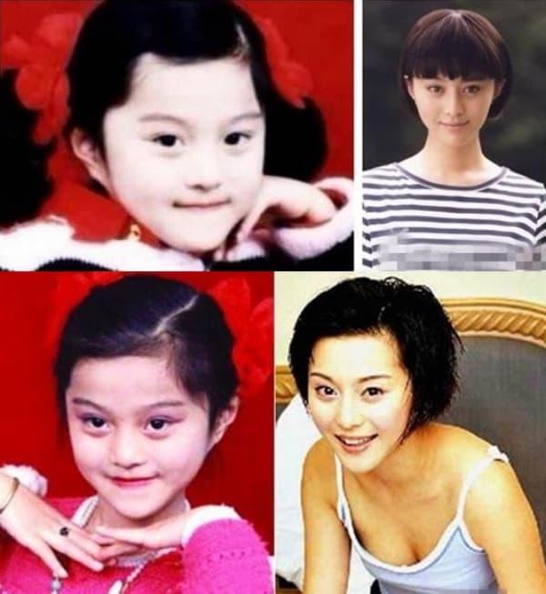Hóa ra hồi trẻ người nổi tiếng xấu như vậy, chỉ có Trương Bá Chi là mỹ nhân đẹp từ trong trứng 9