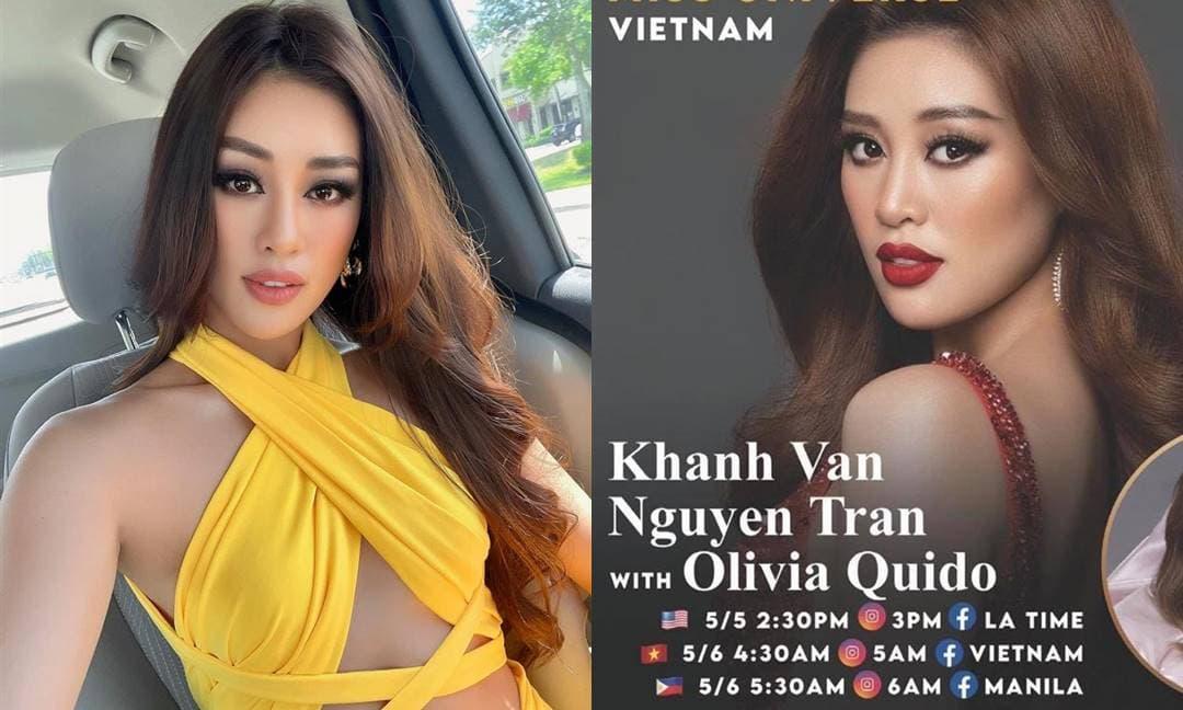 Netizen lo lắng khi Hoa hậu Khánh Vân được mời livestream trên đất Mỹ