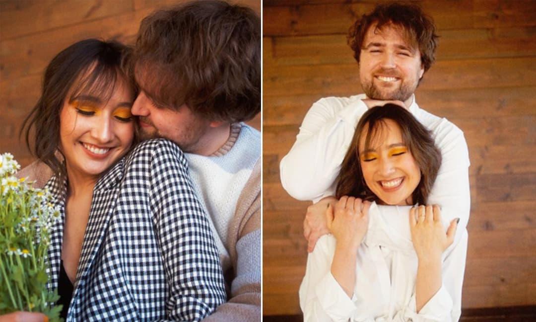 Con gái riêng của chồng Diva Mỹ Linh đã đính hôn với tay trống người Mỹ