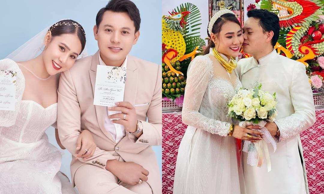 Hồ Bích Trâm lên tiếng về việc tổ chức lễ cưới giữa mùa dịch