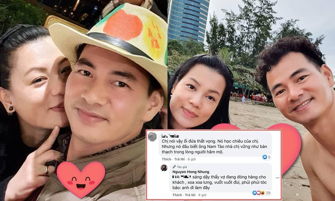 Hậu 'khẩu chiến' với Trang Trần, vợ Xuân Bắc tiết lộ được chồng cưng nựng thế này vào mỗi sáng