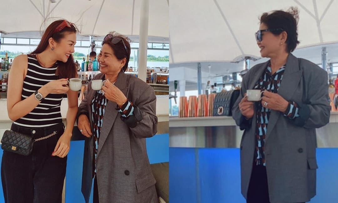 Thanh Hằng gửi lời chúc nhân 'Mother's Day': Fan choáng với style siêu đỉnh của mẹ siêu mẫu