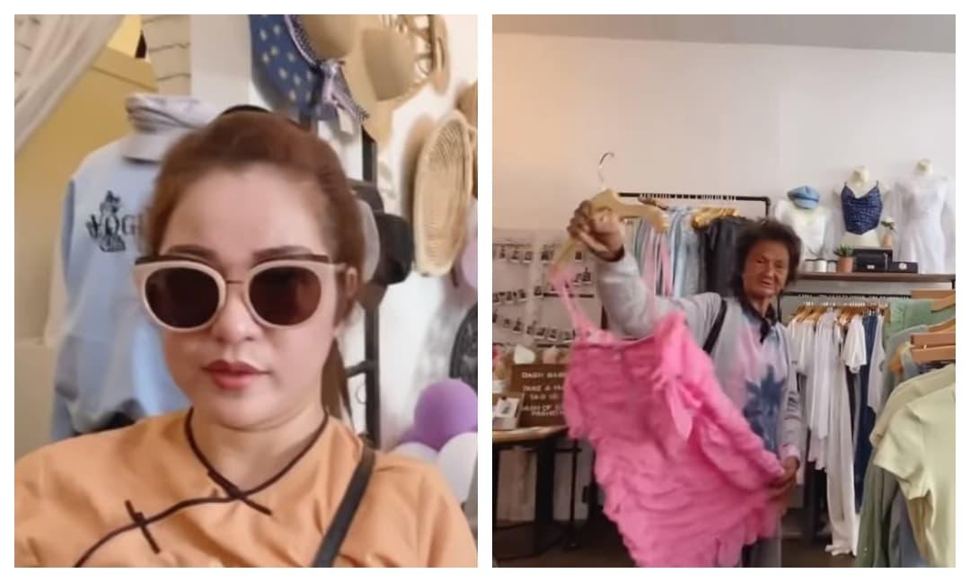 Đưa Kim Ngân đi mua sắm, Thuý Nga choáng vì đàn chị đòi mặc váy 2 dây và lần đầu nhắc về con gái ruột