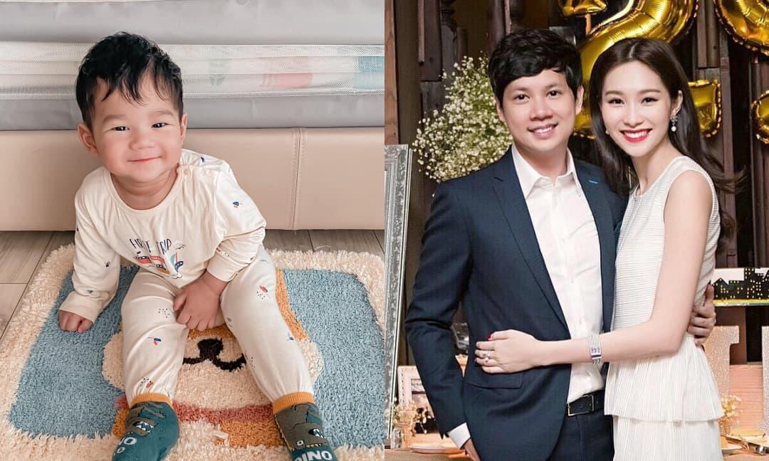 Quý tử nhà Đặng Thu Thảo gần 1 tuổi đã rất hào hứng với sách vở, làm bố doanh nhân phát mê mệt