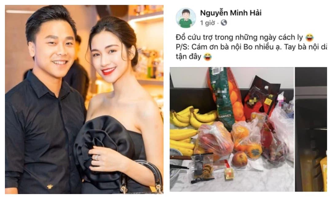Chồng Hòa Minzy kể chuyện cách ly ở nước ngoài, vợ lập tức trêu