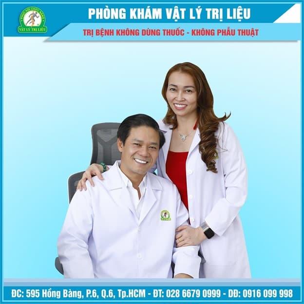 Lương y Trần Công Trang, Trị bệnh xương khớp, Phòng khám Vật Lý Trị Liệu – Phục Hồi Chức Năng