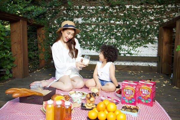 Nhã Phương, thực phẩm bổ sung sữa non Colosmulti, sức khỏe trẻ em