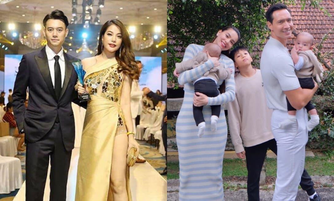 Trương Ngọc Ánh - Kim Lý sau 4 năm chia tay: Nàng hạnh phúc bên tình trẻ, chàng trở thành ông bố bỉm sữa hot nhất Vbiz