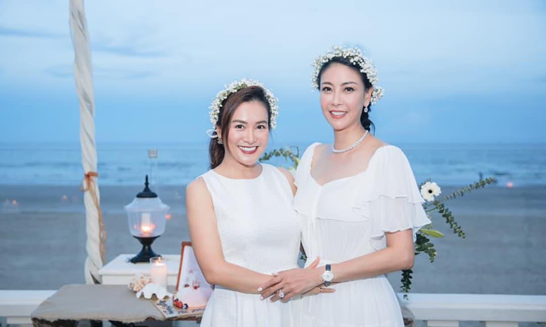 Hoa hậu Hà Kiều Anh tổ chức sinh nhật tại Vũng Tàu