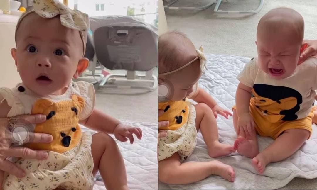 Hồ Ngọc Hà tiết lộ khoảnh khắc Leon khóc to khiến Lisa ngơ ngác, netizen xem clip lại phải 'cười bò'