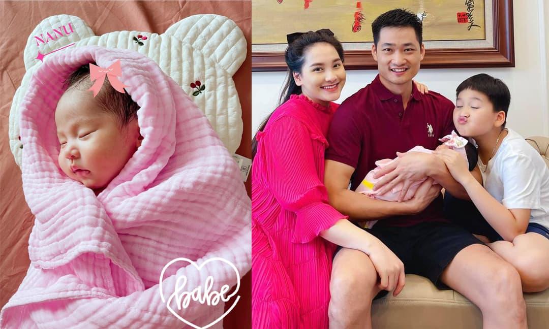 Bảo Thanh tâm sự xúc động trong ngày đầy tháng con gái, tiết lộ về thời điểm có thai 'gay cấn như phim'