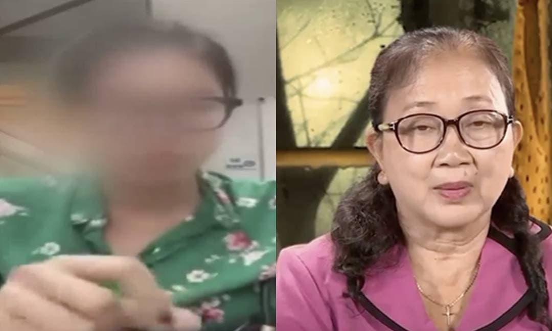 Trang Trần và bố mẹ cố ca sĩ Vân Quang Long bất ngờ bị đưa lên sóng VTV khiến dân mạng xôn xao