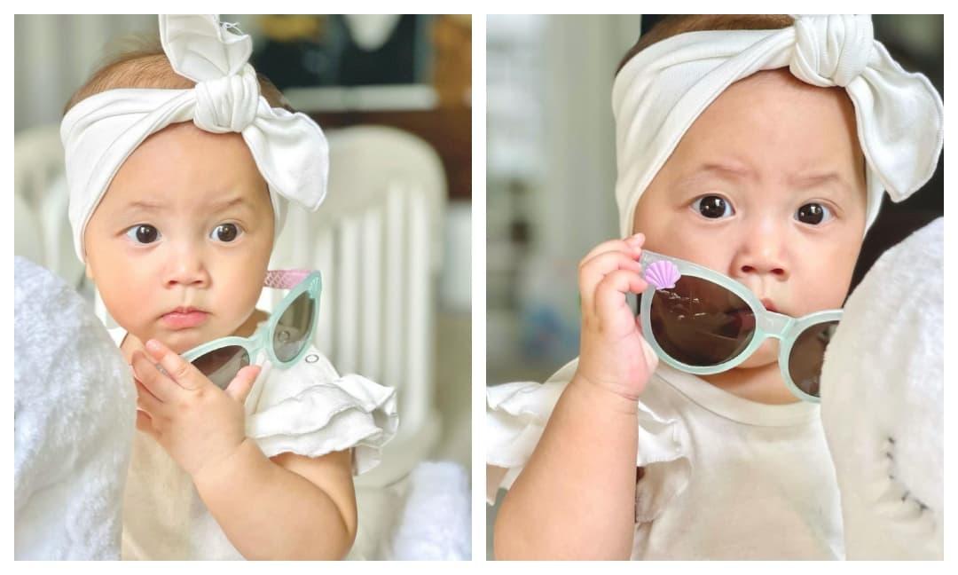 Con gái Hồ Ngọc Hà cưng xỉu khi đeo mắt kính, lên đồ sành điệu