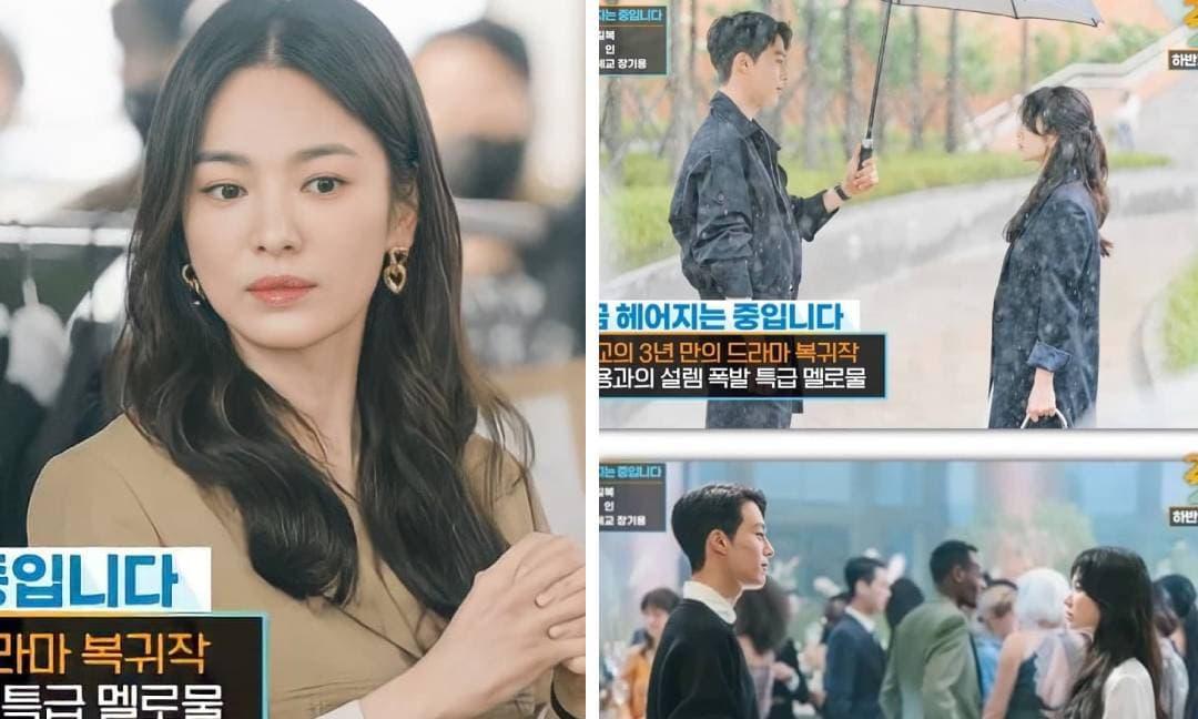 Giật mình với sắc vóc của Song Hye Kyo ngày tái xuất: Đứng bên trai trẻ kém 11 tuổi mà không hề có sự chênh lệch về ngoại hình