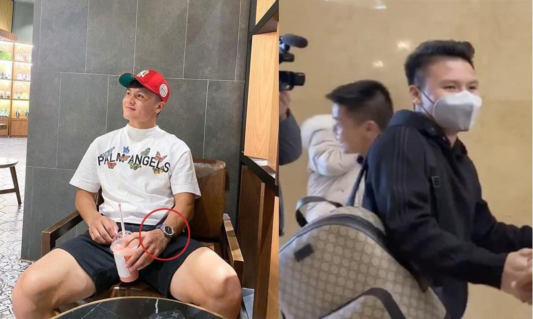 Ngoài sở hữu nhà và xe tiền tỷ, Quang Hải còn là một tay chơi hàng hiệu