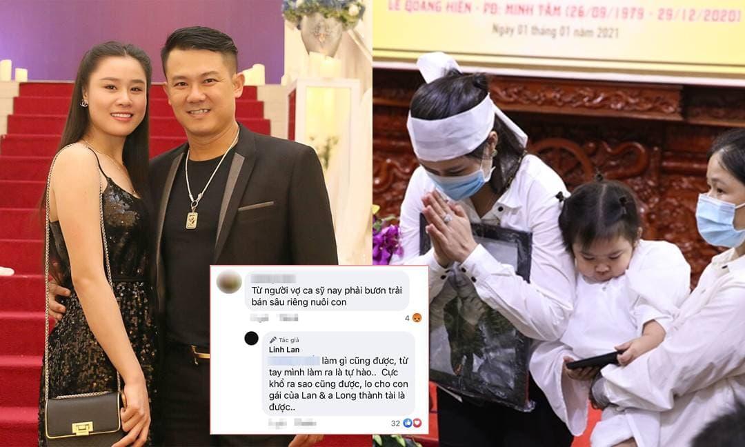 Bị anti-fan 'mỉa mai' bán sầu riêng kiếm tiền, vợ hai Vân Quang Long đáp trả 'gay gắt'