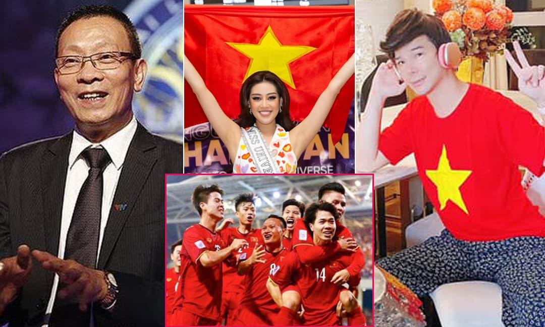 Đội tuyển Việt Nam chính thức đi tiếp vào vòng loại 3 World Cup 2022, sao Việt gửi lời chúc mừng