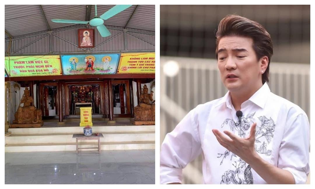 Trích 140 triệu từ tiền cứu trợ lũ lụt để sửa chùa, Đàm Vĩnh Hưng giải thích công khai