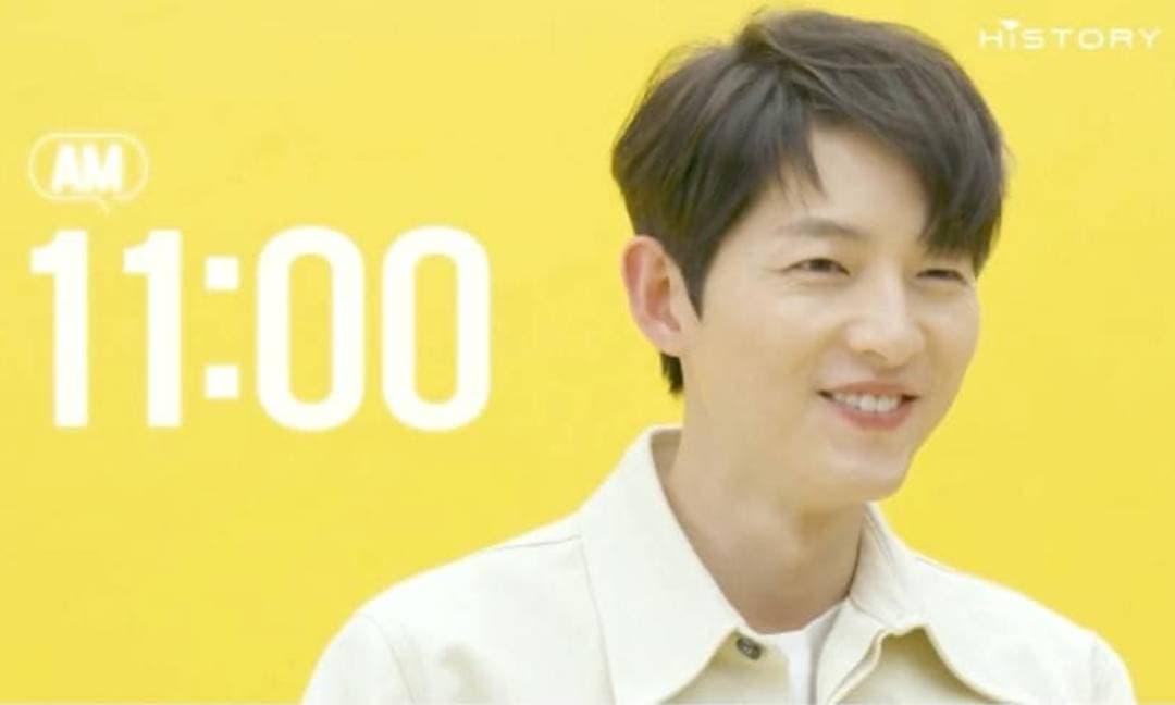 Song Joong Ki tự nhận là người sống lành mạnh nhưng hỏi ra mới lộ chân tướng là 'thánh ngủ'