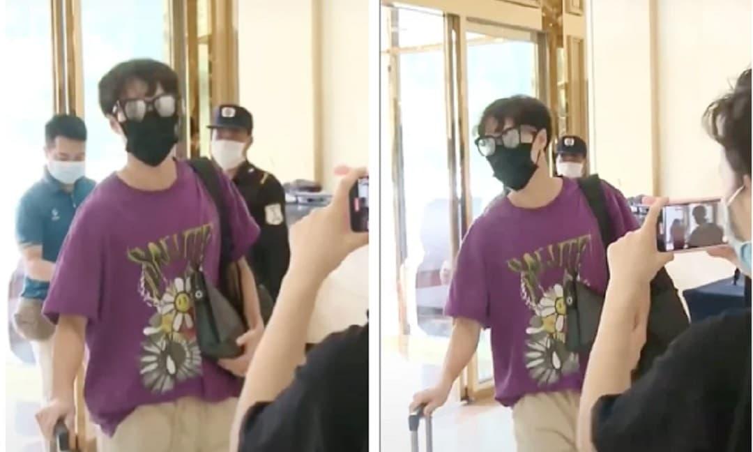 'Chủ tịch' Văn Toàn giật spotlight cực mạnh vì xuất hiện y chang idol Kpop tại khách sạn