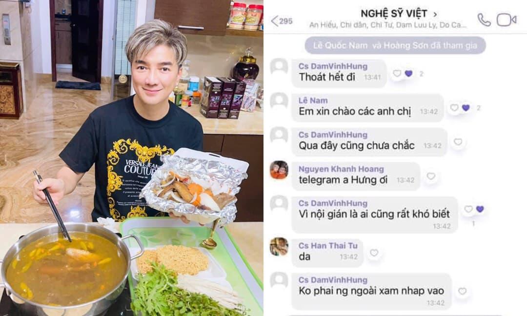 Bị nghi ngờ là người đứng ra thành lập nhóm chat 'Nghệ sĩ Việt', Đàm Vĩnh Hưng có động thái khiến dân tình bất ngờ