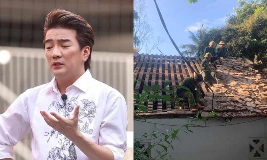 Bị chỉ trích khi dùng tiền cứu trợ lũ lụt miền Trung để sửa chùa, Đàm Vĩnh Hưng chính thức lên tiếng
