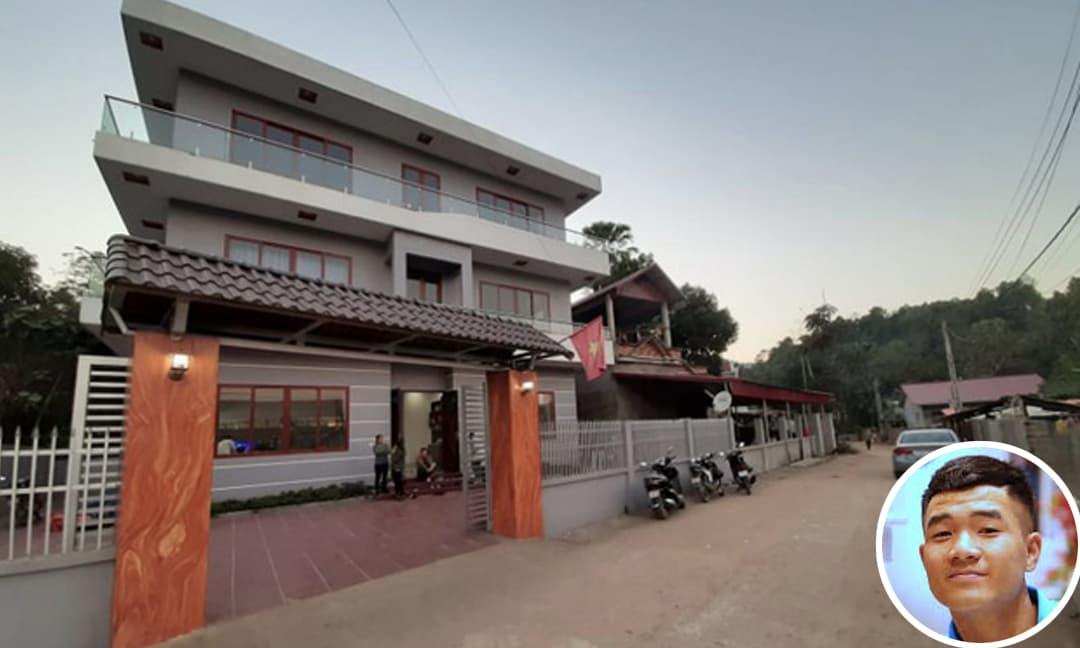 Khám phá ngôi nhà 3 tầng hoành tráng của cầu thủ Hà Đức Chinh