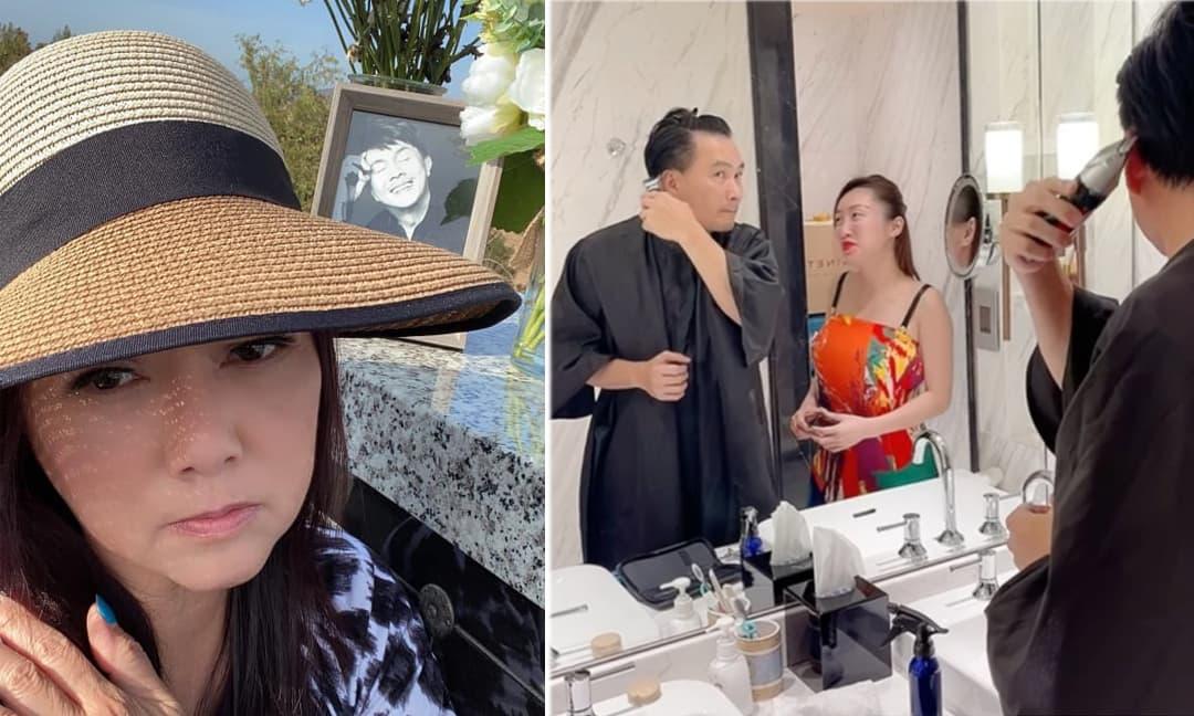 Sao Việt 24/7: Ca sĩ Phương Loan ra thăm mộ NS Chí Tài; Vợ diễn viên Chi Bảo lộ mũi nở, mặt mũm mĩm khi mang bầu