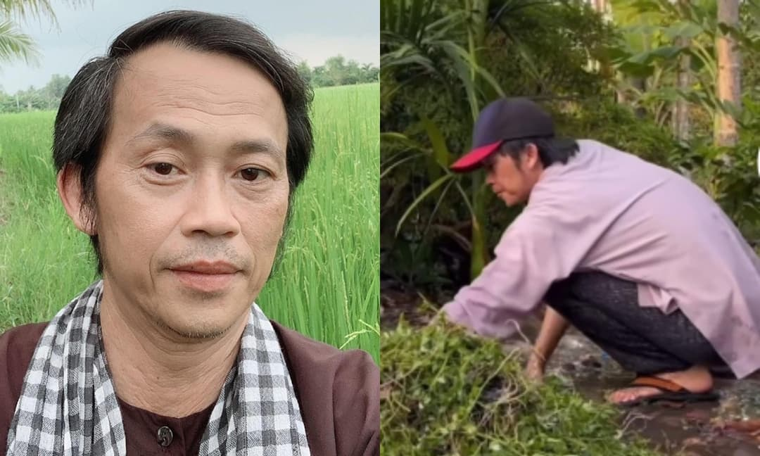 Xôn xao đoạn clip NSƯT Hoài Linh ăn vận giản dị và chăm chỉ làm vườn ở quê sau thời gian dài ở ẩn, thực hư ra sao?