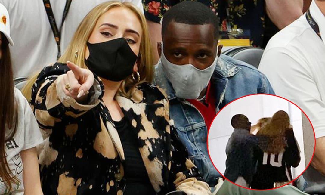 'Họa mi nước Anh' - Adele 'dính như sam' bên bạn trai mới là triệu phú làng bóng rổ