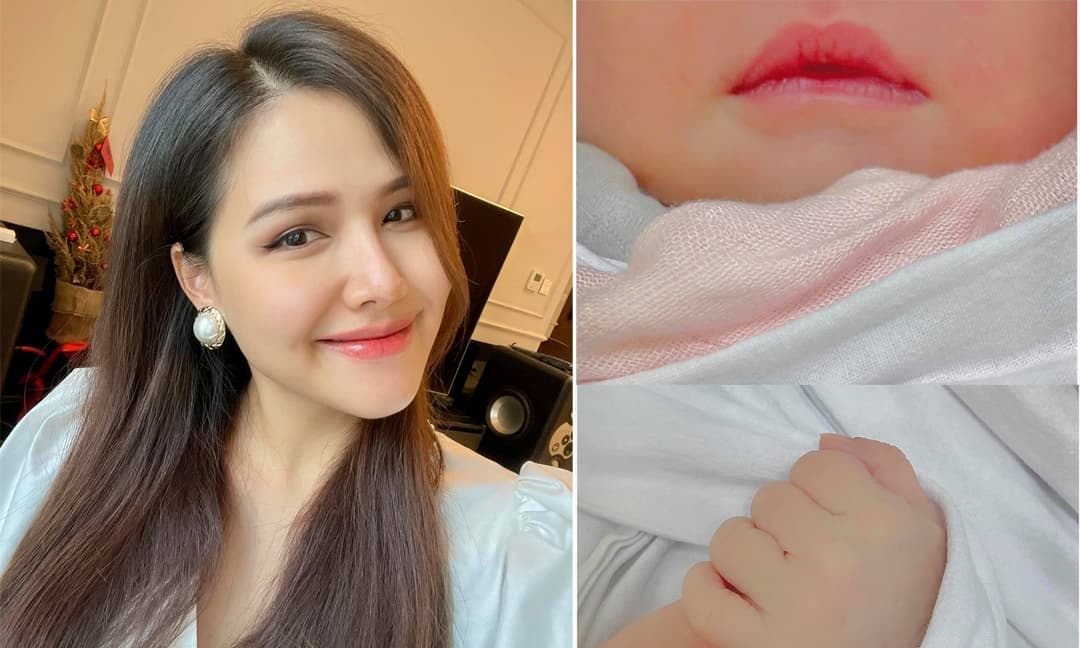 Phu nhân tập đoàn nghìn tỷ - diễn viên Phanh Lee sinh con đầu lòng