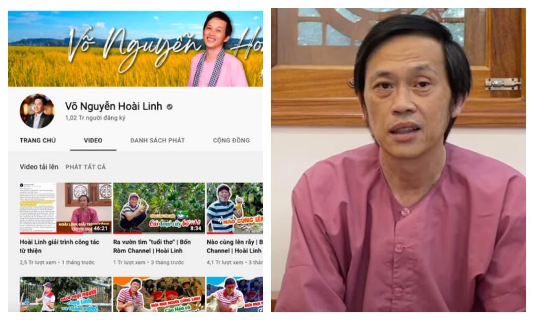 Sau thời gian dài mất tích vì scandal từ thiện, kênh YouTube của danh hài Hoài Linh 'tuột dốc không phanh'