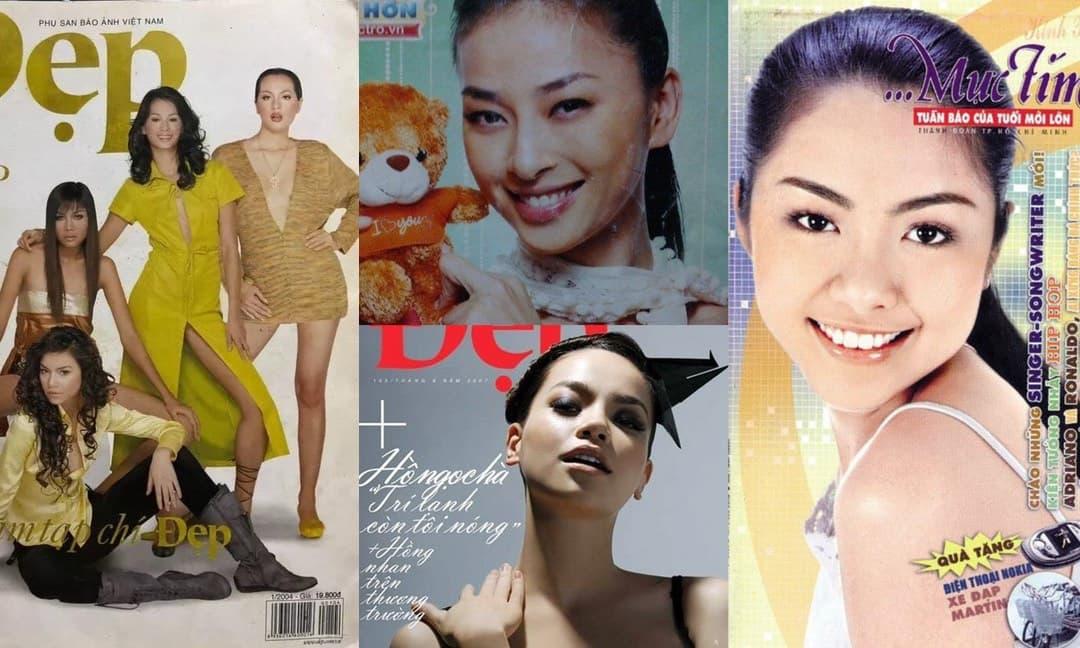 Ngô Thanh Vân, Hà Hồ, Thanh Hằng, Hà Tăng trên bìa tạp chí ngày xưa: Nhan sắc đúng chuẩn 'lão hoá ngược!'