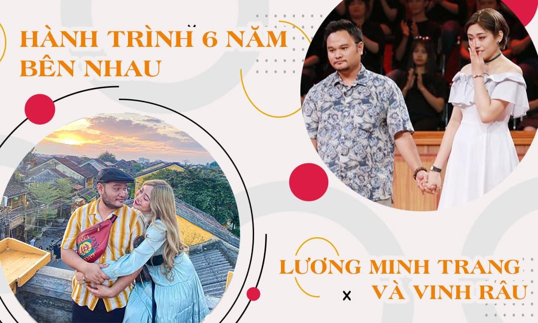 Hành trình 6 năm bên nhau ngọt ngào của Vinh Râu và Lương Minh Trang: Từ hạnh phúc đến 'trêu chọc' cực lầy lội!