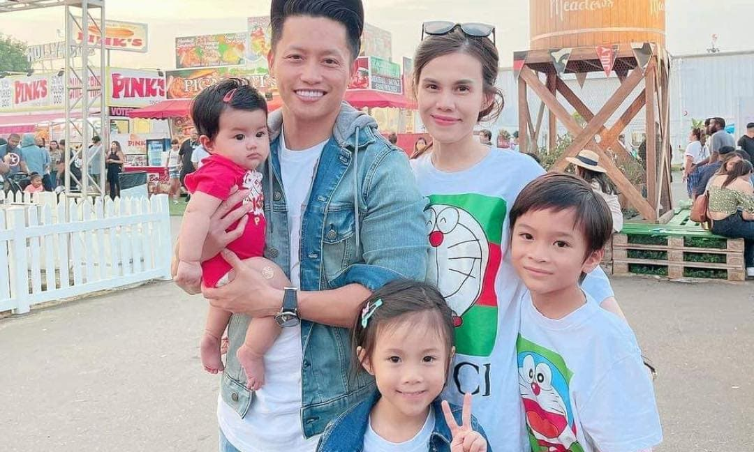 Em gái Thanh Thảo thăng hạng nhan sắc dù vừa sinh con thứ 3, hạnh phúc bên chồng Việt kiều điển trai