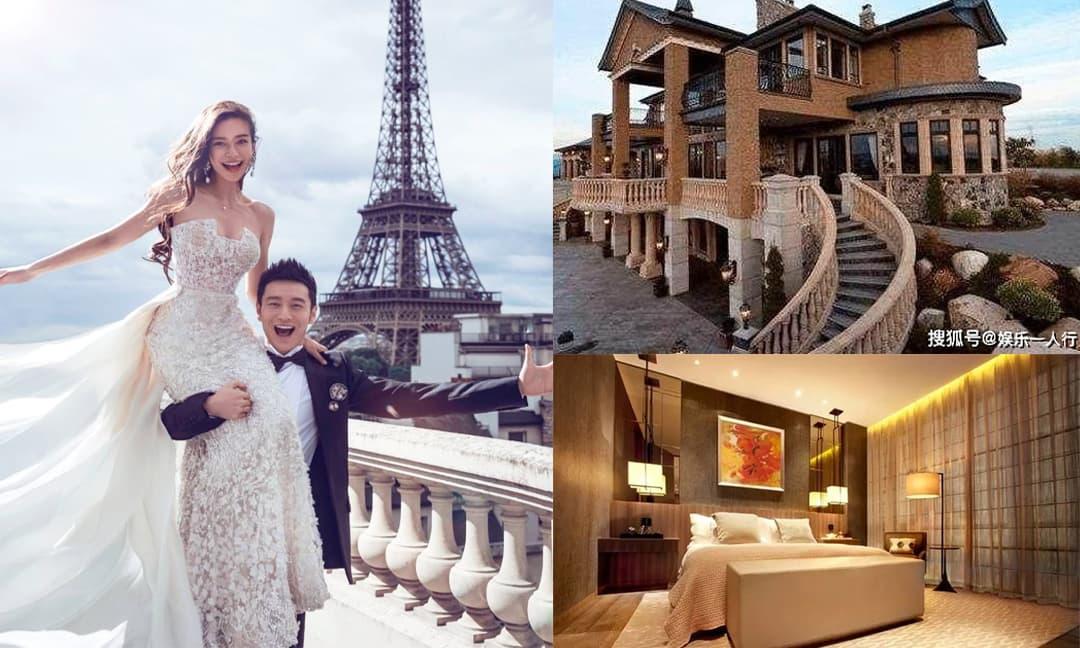 Cận cảnh biệt thự của Huỳnh Hiểu Minh, bên ngoài như tòa lâu đài, nội thất sang trọng bậc nhất, Angelababy sống như công chúa đích thực