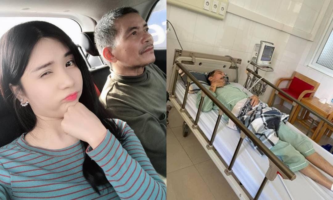 Thanh Bi 'Người phán xử' đau lòng khi bố qua đời sau thời gian chống chọi ung thư phổi, Quang Lê động viên đến 'tình cũ'