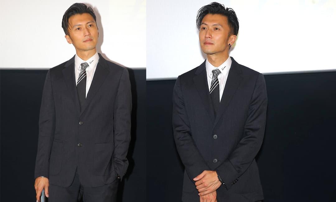 Tạ Đình Phong chiếm sóng với vẻ điển trai ngời ngời, tái xuất dự sự kiện sau loạt ồn ào tình cảm
