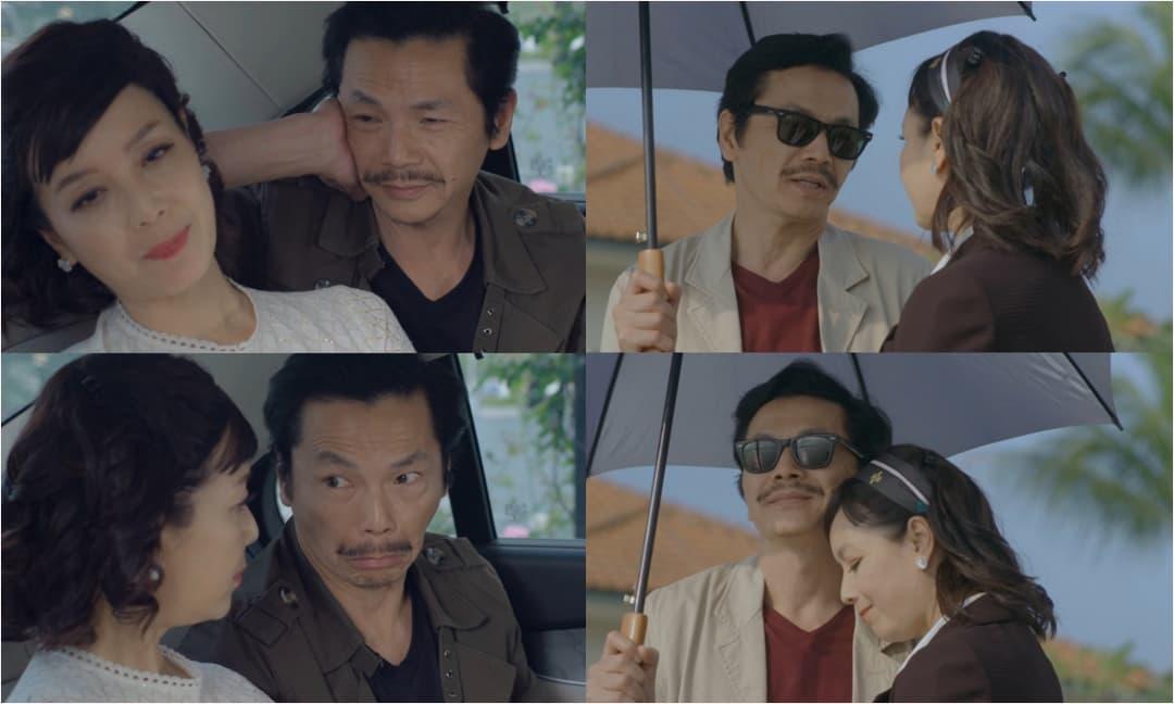 NSND Trung Anh nói về 'phân cảnh tình cảm' trên phim với NSƯT Chiều Xuân