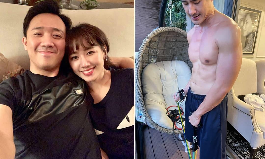 Tin sao Việt 31/7: Hari Won tiết lộ công việc hàng ngày của hai vợ chồng vào mùa dịch; Thúy Diễm khoe body của Lương Thế Thành và khẳng định 'hàng ao nhà vẫn xài tốt'