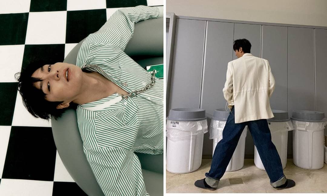Không thể hiểu nổi cách ăn mặc và tạo dáng 'khó đỡ' của mỹ nam Lee Min Ho
