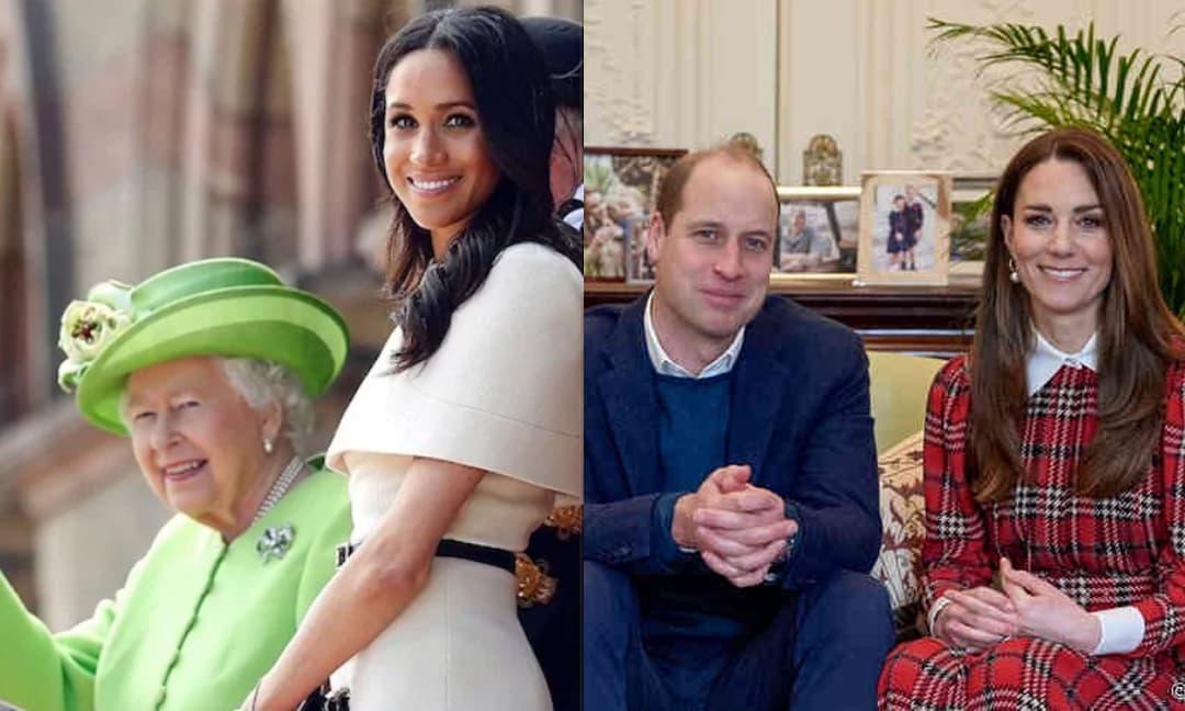 Bỏ mâu thuẫn qua một bên, Nữ hoàng và vợ chồng Kate gửi lời chúc mừng sinh nhật tuổi 40 đến Meghan, nhìn ảnh Nữ hoàng đăng ai cũng chạnh lòng