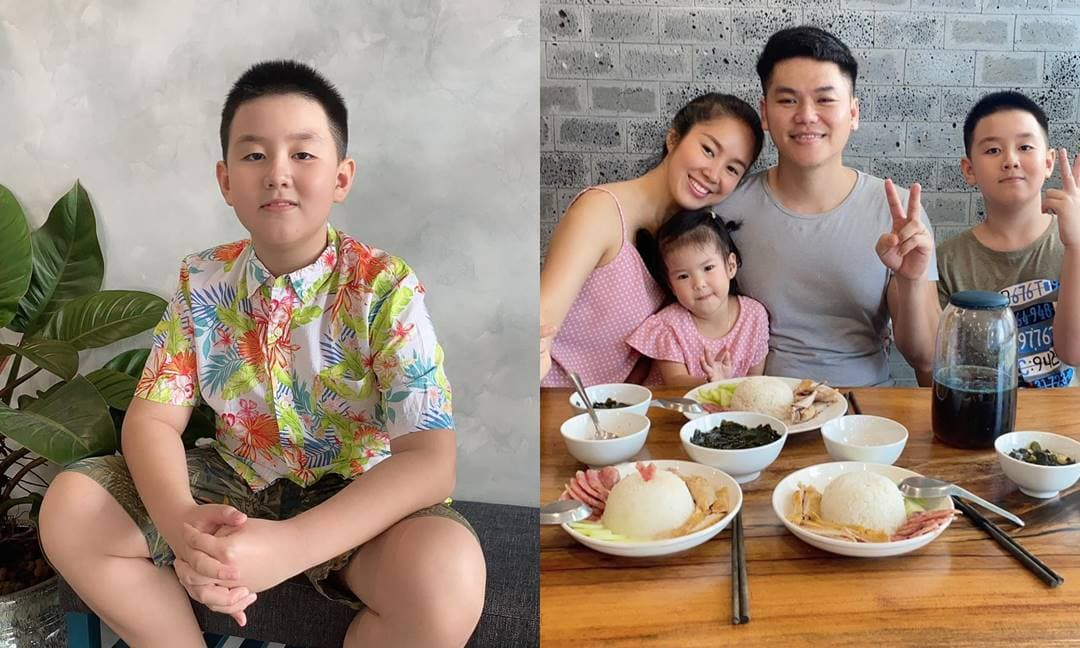 Lê Phương và chồng cũ Quách Ngọc Ngoan cùng làm điều này cho con trai Cà Pháo nhân ngày sinh nhật tròn 9 tuổi