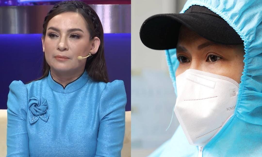 Phản ứng của Việt Hương sau khi nghe tin Phi Nhung bệnh trở nặng, phổi tổn thương