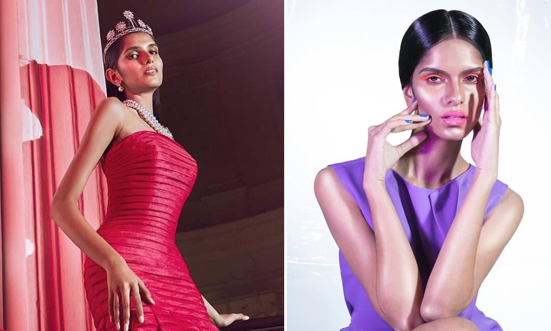 Người mẫu gốc Ấn Độ đăng quang Hoa hậu Hoàn vũ Singapore 2021
